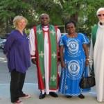 african bishop visit