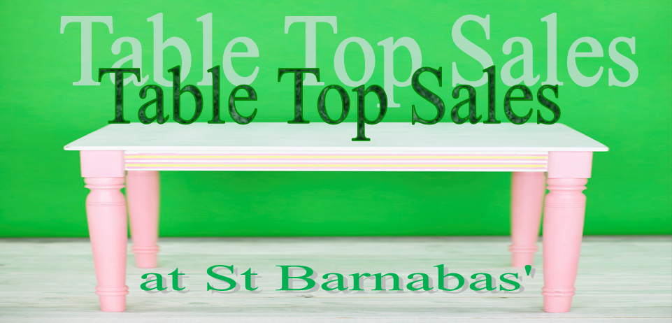 Table Top Sales - supporting charities at St Barnabas' Limassol