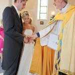 One of many weddings at St Barnabas' Limassol